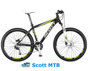 Scott Mountain Bike for Kos Tours